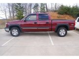 2004 Sport Red Metallic Chevrolet Silverado 1500 Z71 Crew Cab 4x4 #77355070