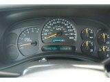 2004 Chevrolet Silverado 1500 Z71 Crew Cab 4x4 Gauges