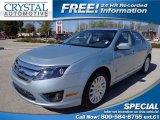 2010 Light Ice Blue Metallic Ford Fusion Hybrid #77355055