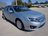 2010 Ford Fusion Light Ice Blue Metallic