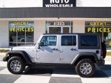 2013 Billet Silver Metallic Jeep Wrangler Unlimited Rubicon 4x4 #77361622
