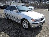 2003 Titanium Silver Metallic BMW 3 Series 330xi Sedan #77361693