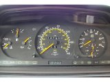 1995 Mercedes-Benz E 300D Sedan Gauges
