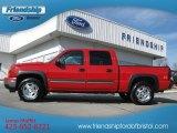 2006 Victory Red Chevrolet Silverado 1500 Z71 Crew Cab 4x4 #77361415