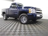 2011 Imperial Blue Metallic Chevrolet Silverado 1500 LS Regular Cab 4x4 #77361686