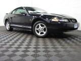 2001 Black Ford Mustang V6 Coupe #77361682