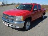 2013 Victory Red Chevrolet Silverado 1500 LT Crew Cab #77361733