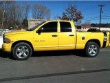 2004 Solar Yellow Dodge Ram 1500 SLT Quad Cab #77361594