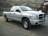 2008 Bright Silver Metallic Dodge Ram 1500 ST Quad Cab 4x4 #77361791