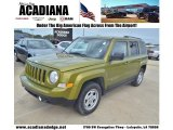 2012 Rescue Green Metallic Jeep Patriot Sport #77361510
