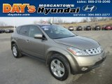 Polished Pewter Metallic Nissan Murano in 2004