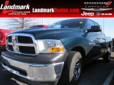 2011 Hunter Green Pearl Dodge Ram 1500 ST Quad Cab #77361501