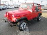 1995 Jeep Wrangler Poppy Red