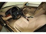 2000 BMW 5 Series 528i Sedan Sand Interior