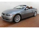 2010 Space Gray Metallic BMW 3 Series 328i Convertible #77398719