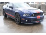2011 Kona Blue Metallic Ford Mustang Shelby GT500 SVT Performance Package Coupe #77399198