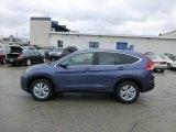 2013 Twilight Blue Metallic Honda CR-V EX AWD #77399068