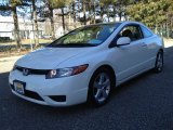 2007 Taffeta White Honda Civic EX Coupe #77399428