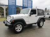 2012 Bright White Jeep Wrangler Rubicon 4X4 #77398706