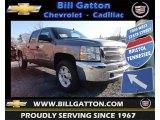 2013 Graystone Metallic Chevrolet Silverado 1500 LT Crew Cab 4x4 #77399190