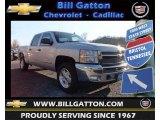 2013 Silver Ice Metallic Chevrolet Silverado 1500 LT Crew Cab 4x4 #77399185