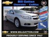 2013 Silver Ice Metallic Chevrolet Malibu LT #77399178