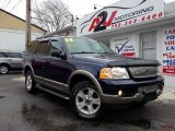 2003 True Blue Metallic Ford Explorer Eddie Bauer 4x4 #77399171