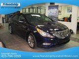 2013 Indigo Night Blue Hyundai Sonata Limited 2.0T #77398688