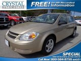 2007 Sandstone Metallic Chevrolet Cobalt LS Sedan #77399045