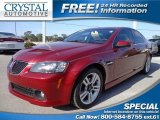 2009 Sport Red Metallic Pontiac G8 Sedan #77399036