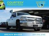 2012 Summit White Chevrolet Silverado 1500 LS Crew Cab #77399146