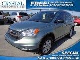 2011 Opal Sage Metallic Honda CR-V SE #77399034