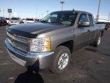 2013 Graystone Metallic Chevrolet Silverado 1500 LT Extended Cab #77398931