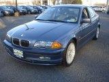 2001 Steel Blue Metallic BMW 3 Series 330i Sedan #77398534