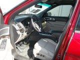 2013 Ford Explorer Limited Medium Light Stone Interior