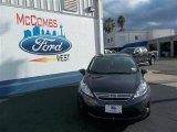 2013 Violet Gray Ford Fiesta SE Sedan #77398643