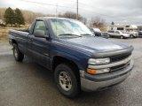 1999 Indigo Blue Metallic Chevrolet Silverado 1500 Regular Cab 4x4 #77398781