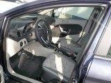 2013 Ford Fiesta SE Sedan Charcoal Black/Light Stone Interior