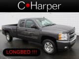 2010 Taupe Gray Metallic Chevrolet Silverado 1500 LT Extended Cab 4x4 #77399127