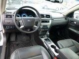 2011 Ford Fusion SEL V6 AWD Charcoal Black Interior