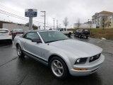 2006 Satin Silver Metallic Ford Mustang V6 Premium Convertible #77398749