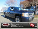 2011 Imperial Blue Metallic Chevrolet Silverado 1500 LS Extended Cab #77398985