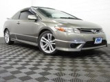 2006 Galaxy Gray Metallic Honda Civic Si Coupe #77398978
