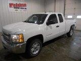 2013 Summit White Chevrolet Silverado 1500 LT Extended Cab 4x4 #77454196