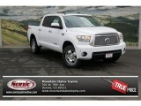 2013 Super White Toyota Tundra Limited CrewMax 4x4 #77453931