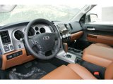 2013 Toyota Tundra Limited CrewMax 4x4 Red Rock Interior