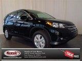2013 Crystal Black Pearl Honda CR-V EX-L AWD #77453957