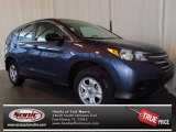 2013 Twilight Blue Metallic Honda CR-V LX #77453955