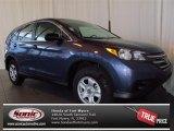 2013 Twilight Blue Metallic Honda CR-V LX #77453955