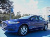 2013 Deep Impact Blue Metallic Ford Fusion SE 1.6 EcoBoost #77454033